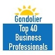 Venice Gondolier top 40 business professionals logo