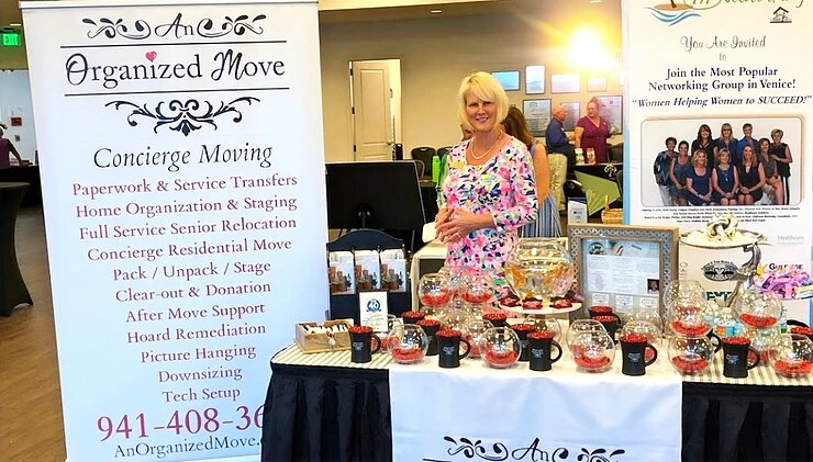 Awarded Best Tabletop Display at the Venice Area Chamber of Commerce Event
